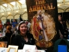 Jennie at our table. Pic by Vicky Stonebridge