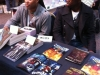 Our table mates - David and Barry of Geek Syndicate